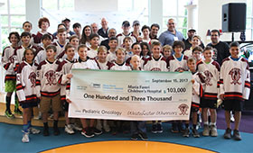 Westchester Warriors Hockey Club Raises More Than $100,000 for Maria Fareri Children's Hospital, Sets Future Goal of $250,000